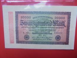 Reichsbanknote 20.000 MARK 1923 (B.1) - [ 3] 1918-1933 : República De Weimar