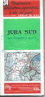 Carte DIDIER & RICHARD : JURA SUD - 1/50 000ème - 1986. - Cartes Topographiques