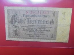 3eme REICH 1 MARK 1937 (B.1) - 1933-1945: Drittes Reich