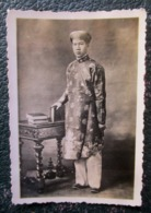 Indochine Photo Bao Dai Empereur D'annam 1936 - Famous People