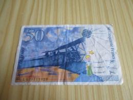 France.Billet 50 Francs St Exupéry 1997. - 1992-2000 Aktuelle Serie