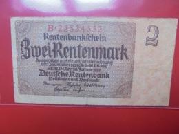3eme REICH 2 MARK 1937 (B.1) - Otros