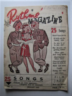 MILITARIA - Rhytme Magazine - 25 Songs - Juillet 1945 - 18 X 13,5 Cm. - Documenti