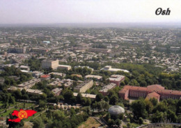 1 AK Kirgistan Kyrgyzstan * Blick Auf Die Stadt Osh (Osch) - Luftbildaufnahme * - Kirghizistan