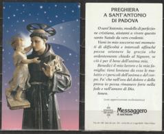 # Santino - Preghiera A Sant'Antonio Di Padova - Santini