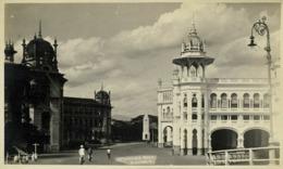 Malay Malaysia, KUALA LUMPUR, Damansara Road, Railway Station (1910s) RPPC - Malaysia