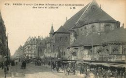 PARIS  3eme Arrondissement   La Rue Réaumur Et Le Conservatoire - Paris (03)