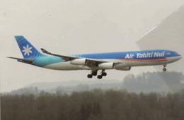 Air Tahiti Airways Nui F-OJGF France A330 Aereo Franch Aiplane At Zurich French A 330 - 1946-....: Era Moderna