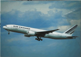 Air France Airlines F-GSPA France B.777 Aereo Franch Airways Aiplane At CDG French B777 - 1946-....: Era Moderna