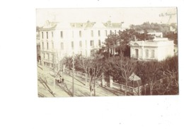 Carte Photo - 06 - JUAN LES PINS - Villa Bonjour - Animation - 1912 - Restaurant Hotel - Juan-les-Pins