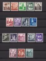 Generalgouverment - 1940/41 -  Michel Nr. 40/51+66/70 - Postfrisch/Ungebr.m.Falz - Besetzungen 1938-45