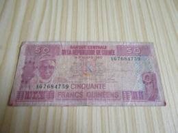 Guinée.Billet 50 Francs Guinéens 01/03/1960. - Guinea