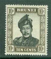 Brunei: 1952/58   Sultan Omar Saifuddin  SG106   10c     MH - Brunei (...-1984)