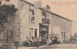 BARGES - LE CAFE A L'ESPERANCE HENRI GIRARD - SUPERBE CARTE TRES TRES ANIMEE - TOP !!! - Francia