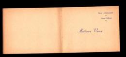Carte De Voeux Vierge De La Base Aéronavale De Lann-Bihoué - Manuscrits