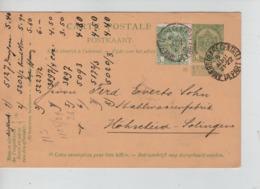 PR6990/ Entier CP 5c Armoiries+TP 83 Perforé P.R.(Pelican Rouge) Repiquage C.Anvers (Gare Centrale Départ) 6/8/09 - Stamped Stationery