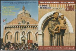 Calendario Tascabile Del 2004 Sant'Antonio Da Padova - Calendari