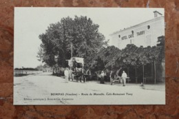 BOMPAS (84) - ROUTE DE MARSEILLE - CAFE RESTAURANT TASSY - France