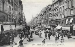 Paris 10)    PARIS  - Rue Du Faubourg Saint Martin - Arrondissement: 10