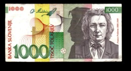 Slovénie, Billet De 1000 Tolarjev - Slovénie