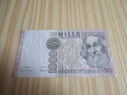 Italie.Billet 1000 Lires. - 1000 Lire