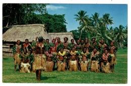 Ref 1328 - Fiji Ethnic Postcard - Nasilai Tropicana Resort Group - Pacific Islands - Fiji