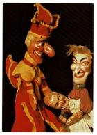 Ref 1328 - Super Punch & Judy Postcard - Puppets - Theatre