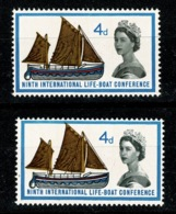Ref 1329 - 1920's Judges RP Postcard - The Peak Of Snowdon - Major Stamp Perforation Error - 1952-.... (Elizabeth II)