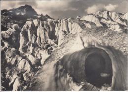 EISGROTTE RHONEGLETSCHER Mit Gerstenhorn,   Gel. 1962 Belvedere Furka - VS Valais
