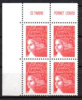 Col12 France Variété Marianne Luquet  N° 3417 / 3396  Barre Pho Brisées Case 1 & 2  Neuf XX MNH Luxe - Variétés Et Curiosités