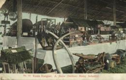 Straits, Malay Malaysia, KUALA KANGSAR, Perak, Industry Show (1910s) Postcard - Malaysia