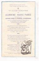 DP Kind - Jeannine M. Parez / VandeMaele ° Vlamertinge 1941 † Voormezele 1942 / Ieper - Imágenes Religiosas