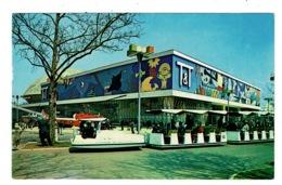 Ref 1329 - Postcard - Transportation & Travel Pavilion - New York World's Fair - Exhibition - Exhibitions