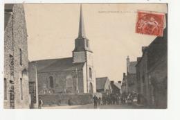 SAINT GUINOUX - LA SORTIE DE L'EGLISE - 35 - Other Municipalities