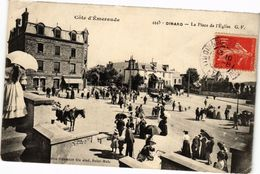 CPA DINARD-La Place De L'Eglise (265655) - Dinard