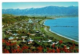 Ref 1330 - Aerial View Postcard - Kaikoura New Zealand - New Zealand