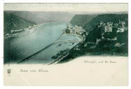 Ref 1330 - Early Germany Postcard - Gruss Vom Rhein - Other