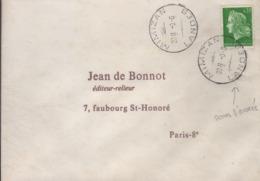 Cachet Manuel Horoplan Mimizan Landes -8-6 I967 Sans Le Millésime - Poststempel (Briefe)