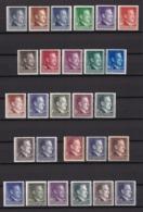 Generalgouverment - 1941/43 -  Sammlung - Postfrisch - Ocupación 1938 – 45