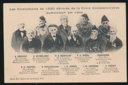 LES COMBATTANDS DE 1830 DECORES DE LA CROIX COMMEMORATIVE SURVIVANT EN 1905 - Guerres - Autres