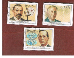 SUD AFRICA (SOUTH AFRICA) - SG 736.739 - 1991  SCIENTIST - USED - Usati