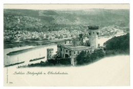 Ref 1331 - Postcard - Schloss Stolzenfels U. Oberlahnstein - Rhineland-Palatinate Germany - Other
