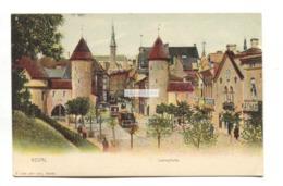 Reval, Tallinn - Lehmpforte - Early Estonia Postcard, Undivided Back - Estland