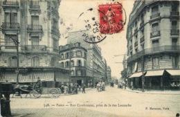 PARIS  15eme Arrondissement   Rue Cambronne Prise De La Rue Lecourbe - Arrondissement: 15
