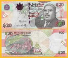 Bahamas20 Dollars P-74A 2010 UNC Banknote - Bahamas