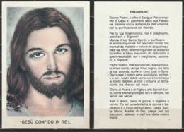 Santino - Gesù Confido In Te ! - Preghiere - Santini