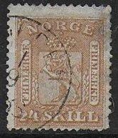 Norvège N° 10  - Cote : 135 € - Oblitérés