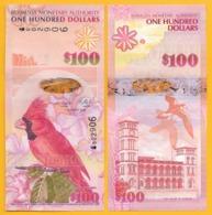 Bermuda 100 Dollars P-62 2009 UNC Banknote - Bermudas