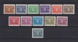 Generalgouverment - 1943 - Dienstmarken -  Michel Nr. 25/36 - Postfrisch - Ocupación 1938 – 45