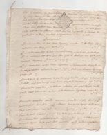 Saint Cénéry 1773 De Pages - Manuscrits